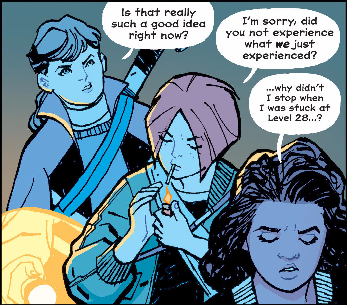 Paper Girls Vol 1 panel