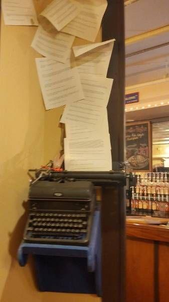 Rabbit and Dragonfly Typewriter