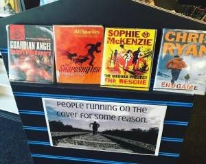 Funny Library Book Displays