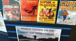 Funny Library Book Display
