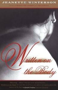 Written on the Body by Jeanette Winterson cover