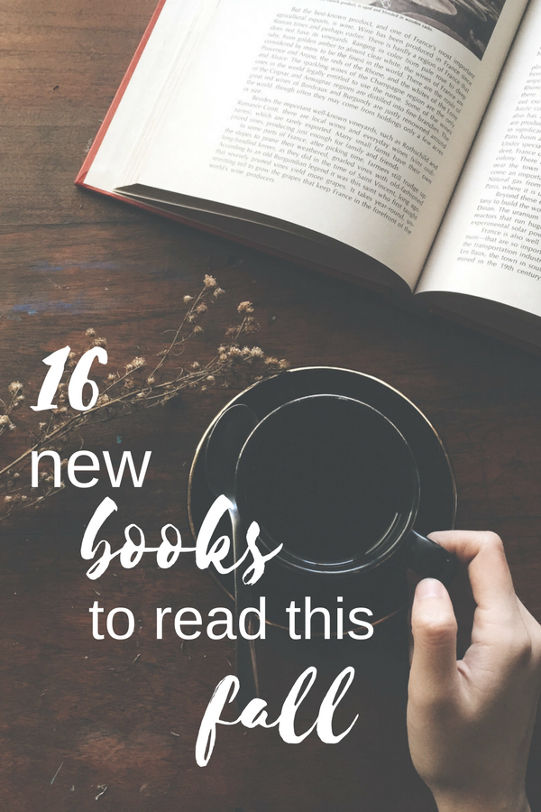 16 new books to read this fall