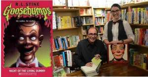 RL Stine at McNally Jackson