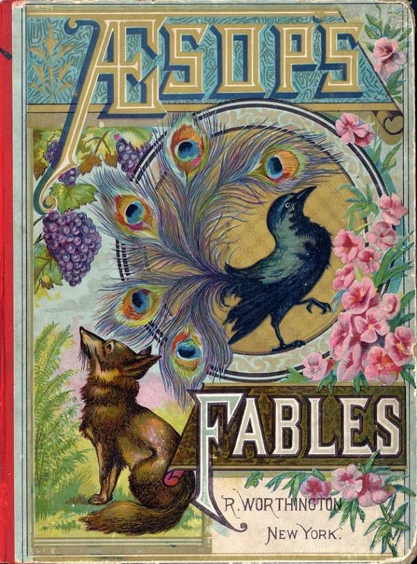 Aesops Fables cover (1884)