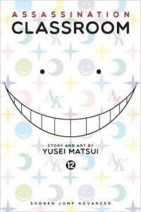 Cover of Assassination Classroom volume 12 by Yusei Matsui