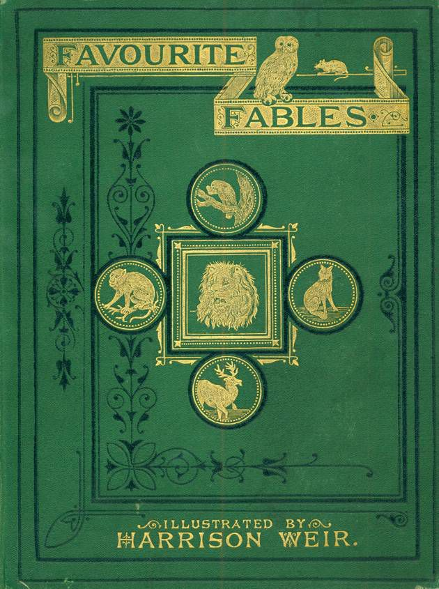 Favorite Fables cover, 1870