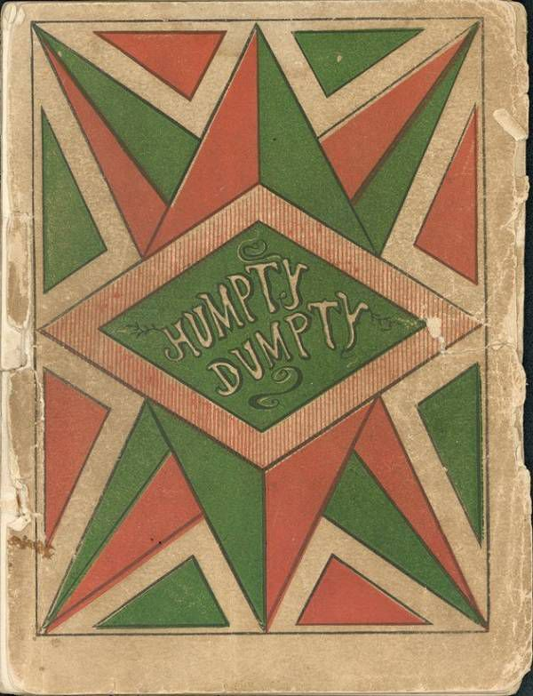 Humpty Dumpty cover 1869