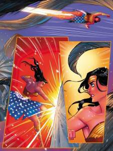 The Legend of Wonder Woman chapter __, art by Renae De Liz and Ray Dillon