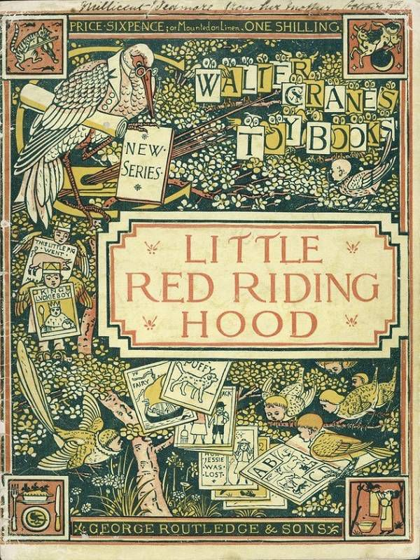 Little Red Riding Hood cover 1875