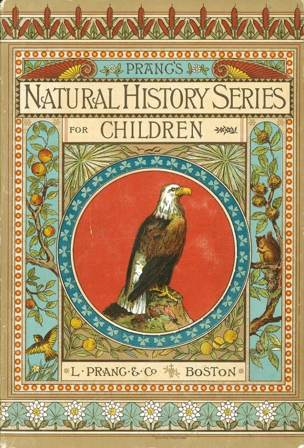 cover of Prang's Natural History Series for Children 1878