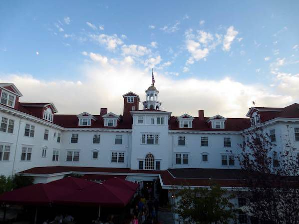 Stanley Hotel back side