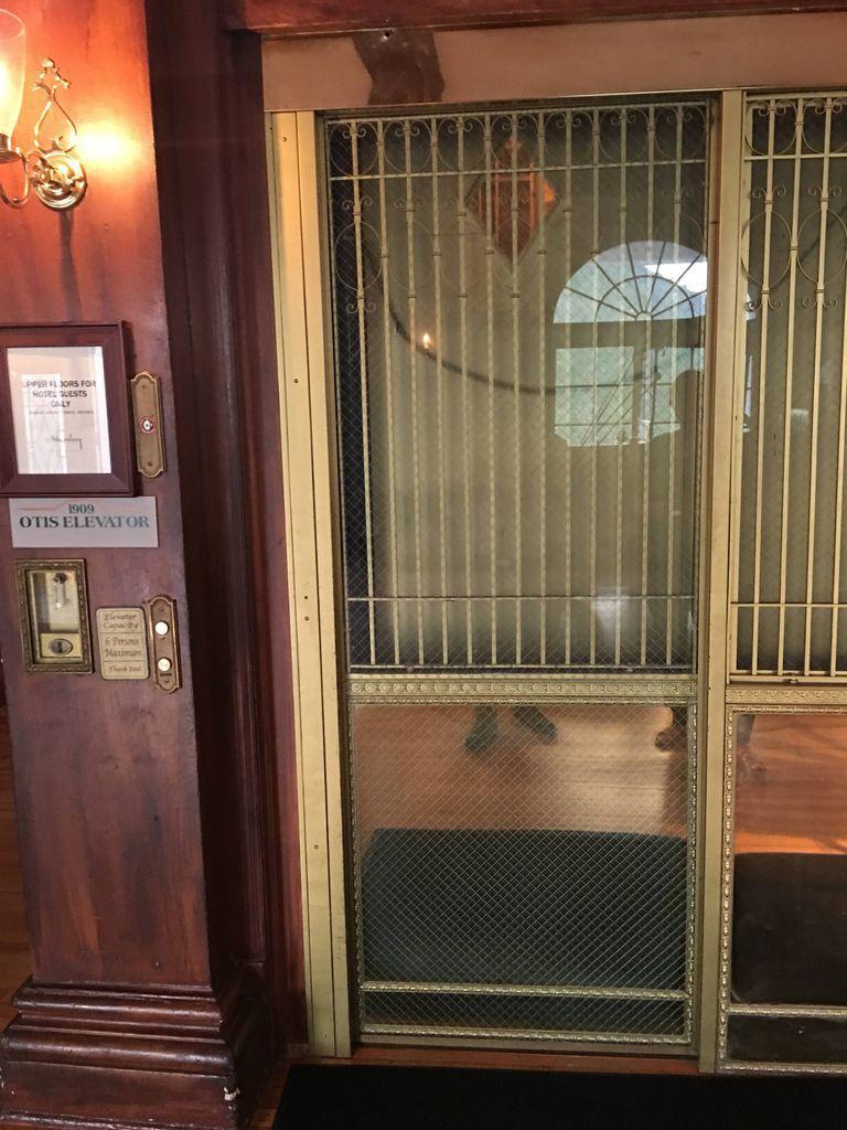 Stanley Hotel elevator