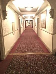 Stanley Hotel hallway