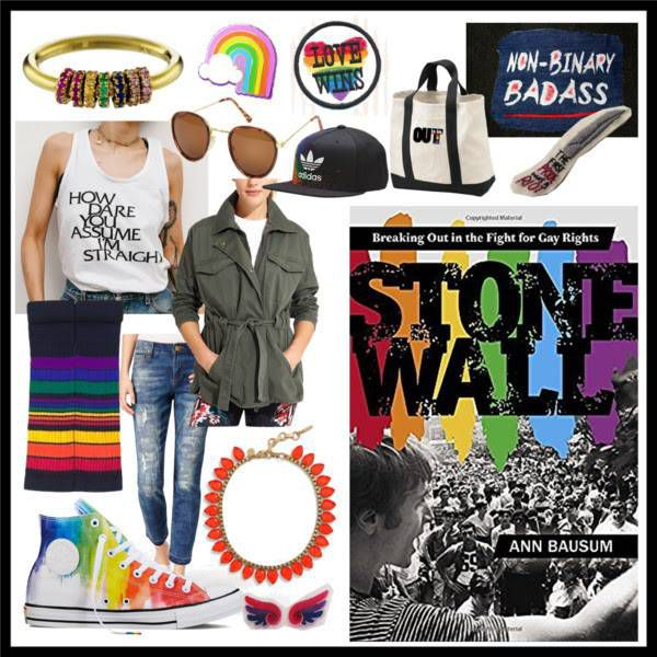 Stonewall: Breaking Out in the Fight for Gay Rights by Ann Bausum Book Style