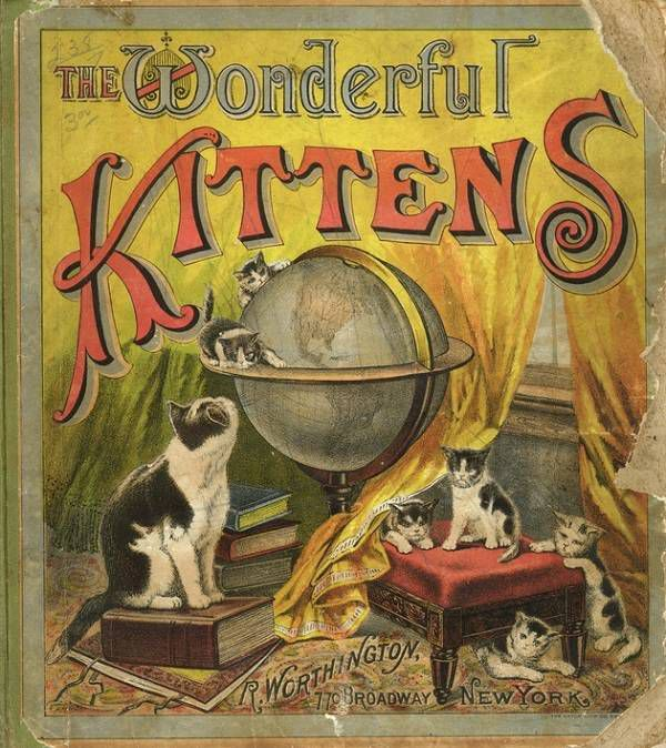 The Wonderful Kittens cover c 1883