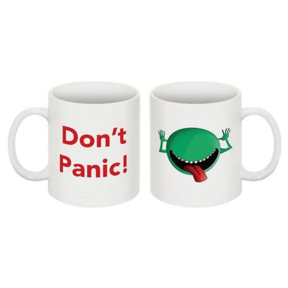 hitchhikers guide mug