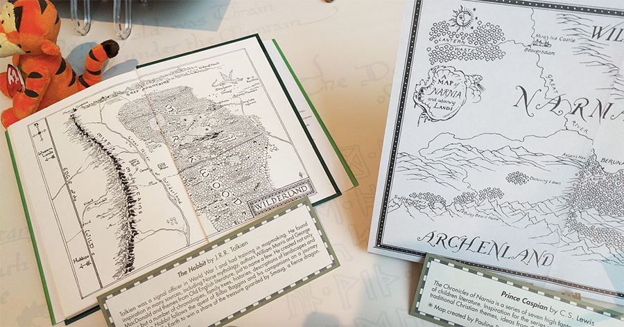 Map of The Hobbit and Prince Caspian