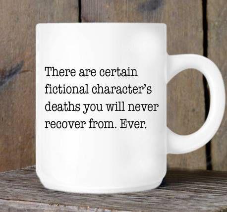 killed characters mug