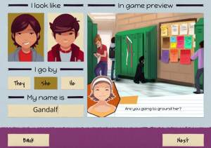 Long Story smartphone game screenshot