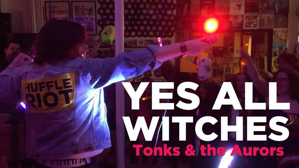 yes all witches tonks and the aurors wrock