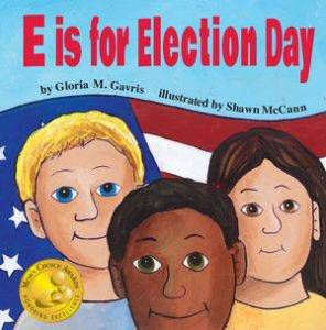 E is for Election day cover FINAL HC v_01.indd