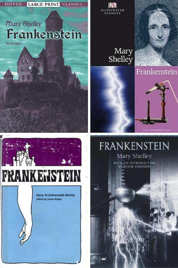 40 Great FRANKENSTEIN Covers