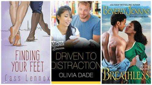 January 2017 Diverse Romance Collage