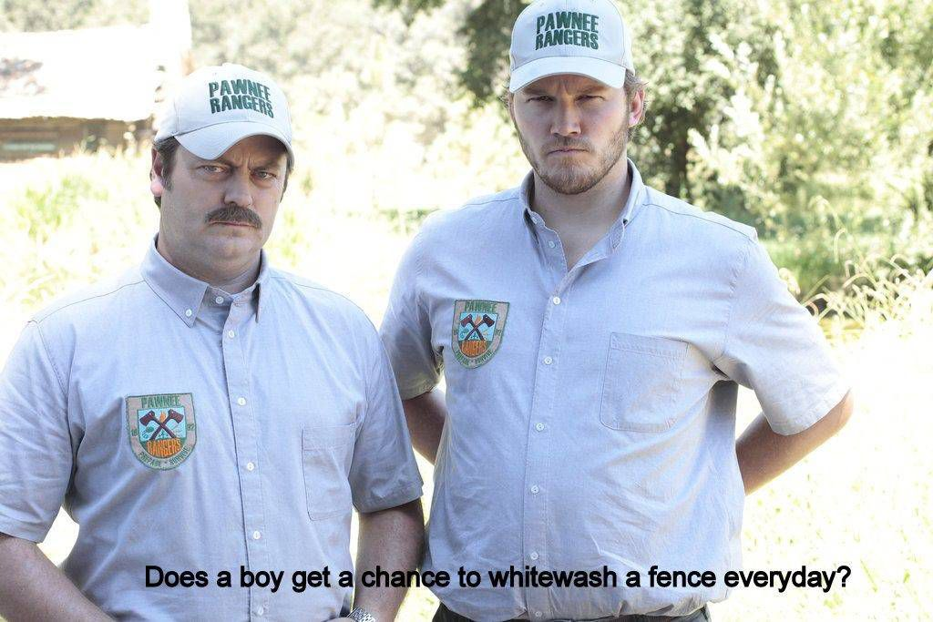 "Photo from the episode ""Pawnee Rangers"" eps 404"