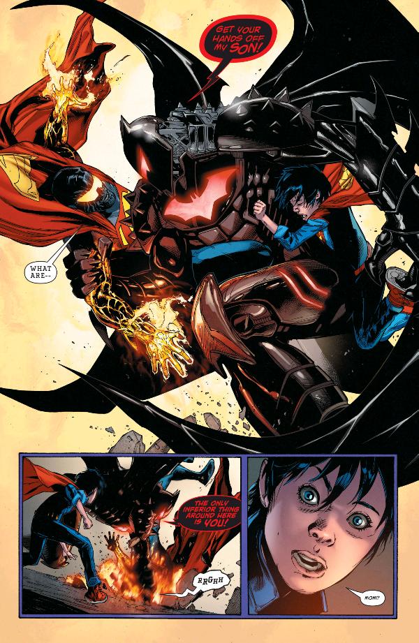 From Superman (2016) #5 by Peter J. Tomasi, Patrick Gleason, Doug Mahnke, Jaime Mendoza, Wil Quintana, and Rob Leigh