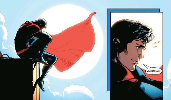 From Superman (2016) #7 by Peter J. Tomasi, Patrick Gleason, Jorge Jimenez, Alejandro Sanchez, and Rob Leigh