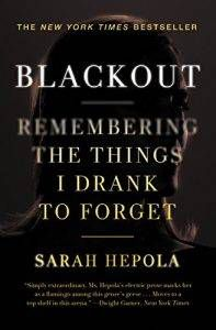 Blackout by Sarah Hepola cover
