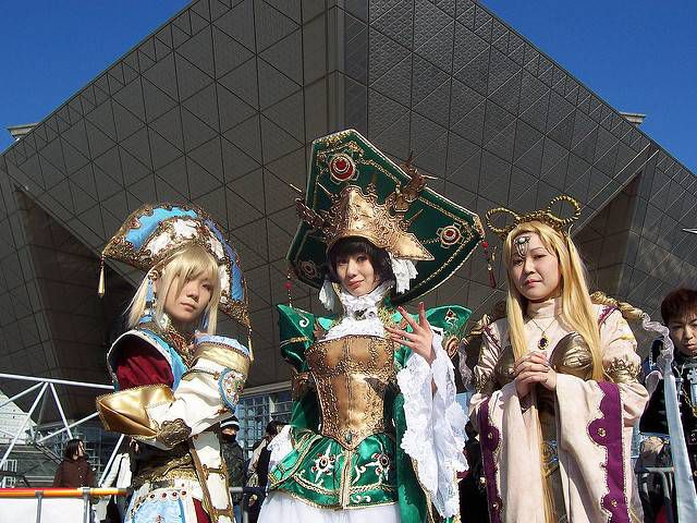 comiket cosplayers japan