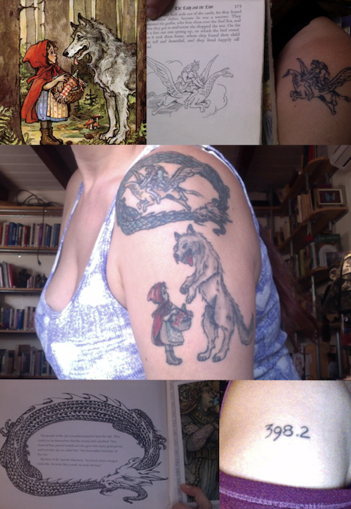12 Badass Literary Tattoos From Rioters (With The Books That Inspired 'Em)   BookRiot.com