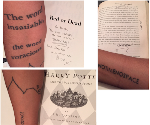12 Badass Literary Tattoos From Rioters (With The Books That Inspired 'Em) | BookRiot.com
