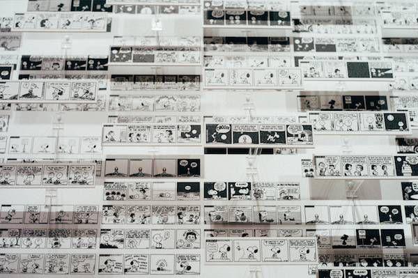 snoopy-museum-tokyo-comic-strips