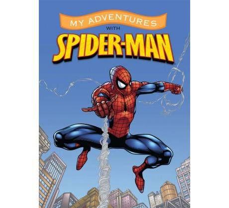 spiderman personalized book