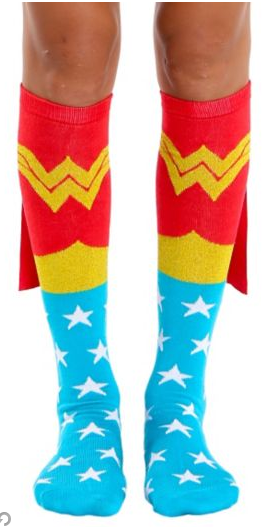 wonder-woman-cape-socks