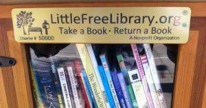 50,000th Little Free Library sign