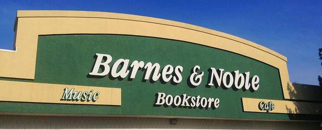 Barns & Noble storefront