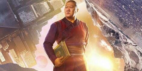 Benedict Wong as Wong the Librarian in Doctor Strange