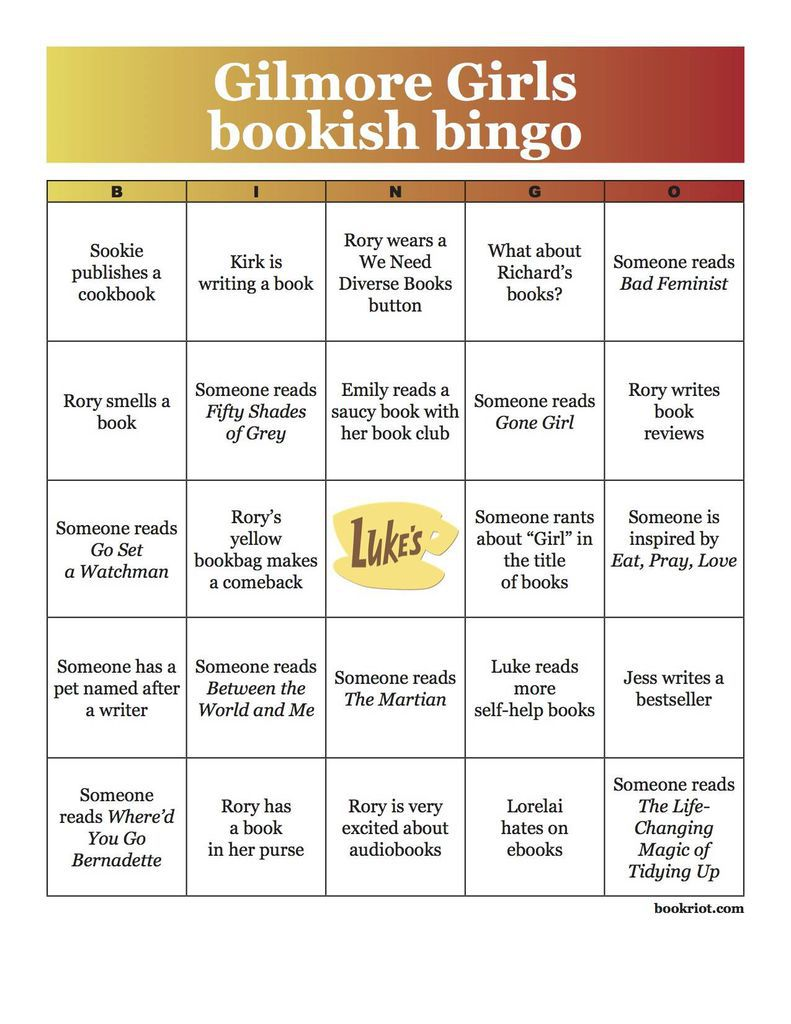 gilmore-girls-bookish-bingo