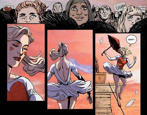 Story by Gwenda Bond, Script by Kate Leth, Lineart by Ming Doyle, Colors by Andrew Dalhouse, Letters by Deron Bennett