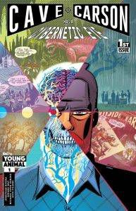 Cave Carson Has a Cybernetic Eye 1