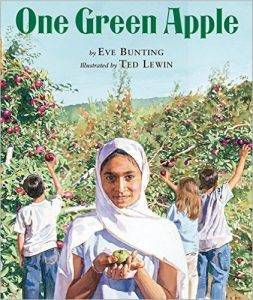 one-green-apple-by-eve-bunting-illustrated-by-ted-lewin