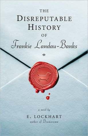 The Disreputable History of Frankie Landau-Banks by E. Lockhart cover