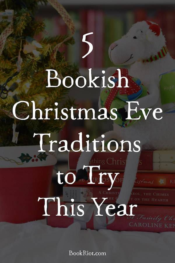 Start a new Christmas tradition this year! Start with one of these five ideas for bookish Christmas Eve traditions.