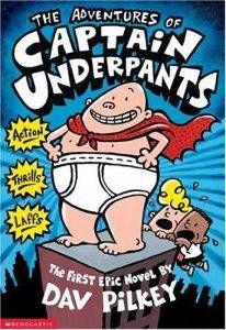 Captain underpants cover