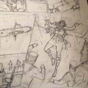 Unpublished Legend of Wonder Woman Volume 2 art by Renae De Liz.