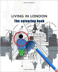 living-in-london-the-colouring-book