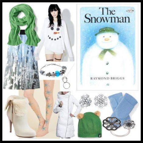 The Snowman by Raymond Briggs Book Style